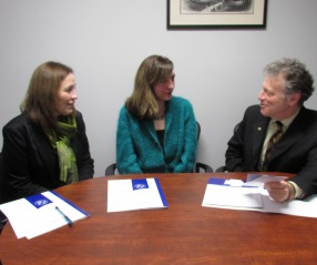 Meeting with Alzheimer's Society